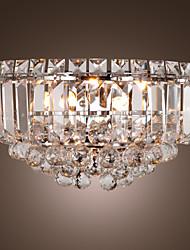 lussureggianti applique di cristallo con 3 luci (base G9)
