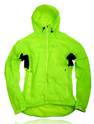 NUCKILY Men's Hooded Design Cycling Windbreaker with 3M Reflective stripe