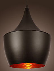 SL® Artistic Pendant Light in Black Shade