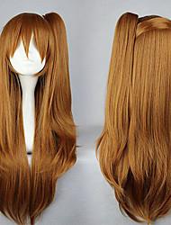 cosplay peluca inspirada en chunibyo demostración koi ga shitai! Shinka Nibutani marrón 75cm dulce