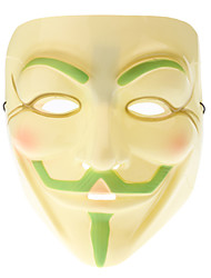 Glow-in-dark Masker van V for Vendetta