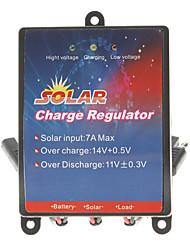 7A voiture Régulateur de charge solaire / Anti-fil Système de charge