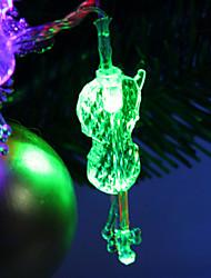 7M 30-светодиодный Скрипка-Shaped Красочный светодиодные Газа Fairy лампы для фестиваля украшения (220)