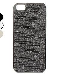Вспышка поверхности порошка Жесткий чехол для iPhone 5 (разных цветов)