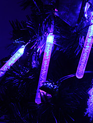 1.2M 10-LED Bubble Stick Shaped Blue Light String Fairy Lamp for Christmas (3xAA)