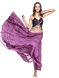 Dancewear Linen Performance Belly Dance Skirt for Ladies More Colors