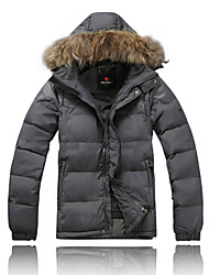 AD-2159 Waterproof VALIANLY Outdoor Men's Skiing Down Jacket
