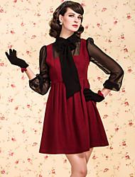 ts do vintage arco camisa tweed estilo