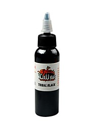Las tintas negras 60ml Body Art