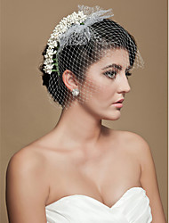 Gorgeous Tulle Wedding Bridal Flower/ Headpiece