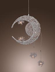 LED Max 3w*5 Zeitgenössisch / Kugel Ministil Galvanisierung Metall Pendelleuchten Wohnzimmer / Esszimmer / Küche