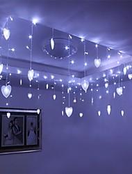 8Mx0.5M White Love LED String com 192 LEDs