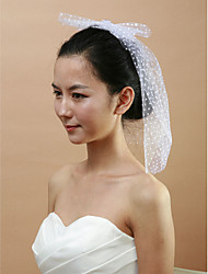 Women's Tulle Headpiece - Wedding/Special Occasion Birdcage Veils