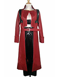 Inspired by Devil May Cry Dante Video Game Cosplay Costumes Cosplay Suits Patchwork Red Long Sleeve Coat / Pants