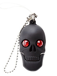 8 Go brillant Skull USB 2.0 Flash Drive