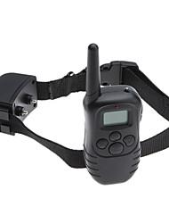 choc rechargeable et étanche et vibra chien à distance de matériel d'affichage formation lcd
