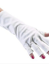 1pcs Cotton UV Nail Kit Protect Gloves