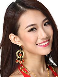 Performance Dancewear Alloy Belly Dance Chandelier Earrings For Ladies More Colors