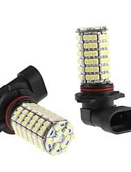 9006 6W 120x3528 SMD LED blanco Lámpara Bombilla para coches niebla (12V, 2-Pack)