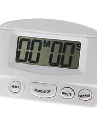 """LCD de 2 """"Memory Electronic Timer Clock (1xAAA, 2 colores seleccionables)"""