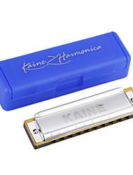 Kaine - (K1002) Blues Harp Harmonica C key/10 Holes/20 Tones