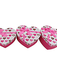 Pink Heart Shaped Gift Box mit Ribbon Bow