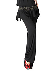 Dancewear Velvet Practice Latin Dance Bottom For Ladies More Colors