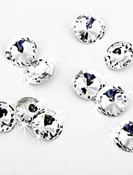 Wedding Décor Amazing Brilliant Cut Crystal Diamond Confetti - Set of 50 Pieces (More Sizes)