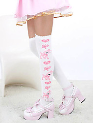 Lovely Deer Pattern Cotton Sweet Lolita Stockings (2 Colors)