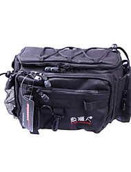 Etanche Black Belt Bag Shoulder Tackle Pêche
