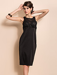 TS сексуальные точки зрения сетки переднего тонкий платье без рукавов