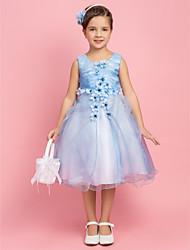 Онлайн принцессы Jewel Чай органзы Цветочница платье