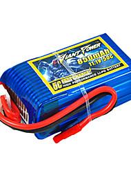 850mAh 11.1V/3S bateria Lipo 50C para o modelo de RC