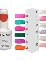 UV Gel Colorful Nail Art Nail Polish (15ml,1 Bottle)
