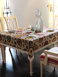 Exotic Patterned Cotton Table Cloths