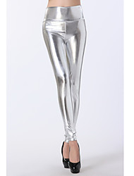 Women Metallic Legging Medium