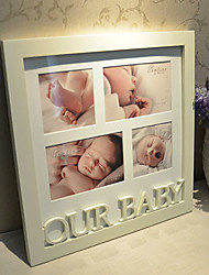 "6"" 4"" OUR BABY Theme Hanging Picture Frame"