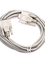 Female to Female DB 9pin Serial Port Connecting Cable (5 m)