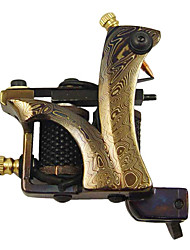 High Quality Damascus Steel Tattoo Machine Gun Shader