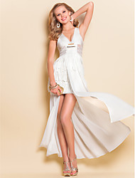 Metal TS Tassels Maxi Dress Vest