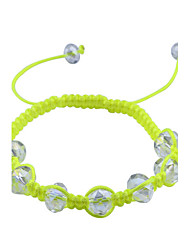 European Style  Fashion Weave Beads Adjustable Bracelet