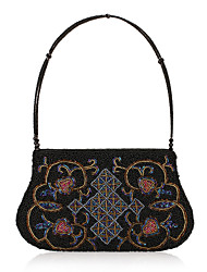 Charming Polyester with Beadings Evening Handbag/Top Handle Bag(More Colors)