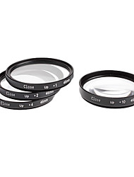 4pcs 46mm Close-Up Filter Kit für Kamera mit Filter Bag (+1, +2, +4, +10)
