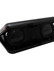 3-5x X 25 mm Binoculares Maletín Binoculares de Aumento Negro