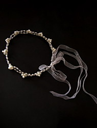 Women's Tulle/Imitation Pearl Headpiece - Wedding/Special Occasion/Casual Headbands