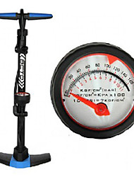 BETO Iron 24-inch Floor-Pump with Pressure Gauge CF2SG1
