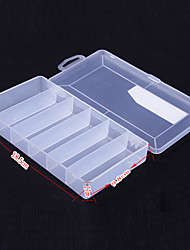 Medium Size Transparent Lure Box Tackle Box