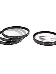 4pcs 58mm Close-Up Filter Kit for Camera with Filter Bag (+1, +2, +4, +10)