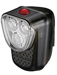 Akslen 2-Mode 3-LED Upright High Brightness Bike Front Light HL-80