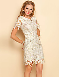 TS Revers Short Sleeve Dress